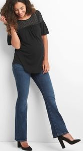 GAP 1969 Maternity Sexy Boot Cut Denim Pants